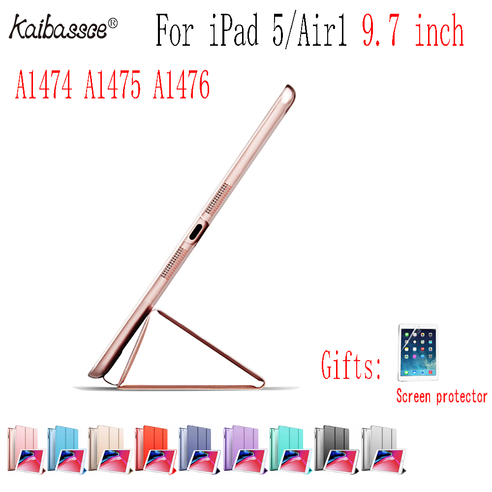 Kaibassce Pill Flip Sensible Sleeping Case Comfortable Edge All Inclusive Computer Laborious Case Cowl For Ipad Air 1 Ipad 5 9.7 Inches