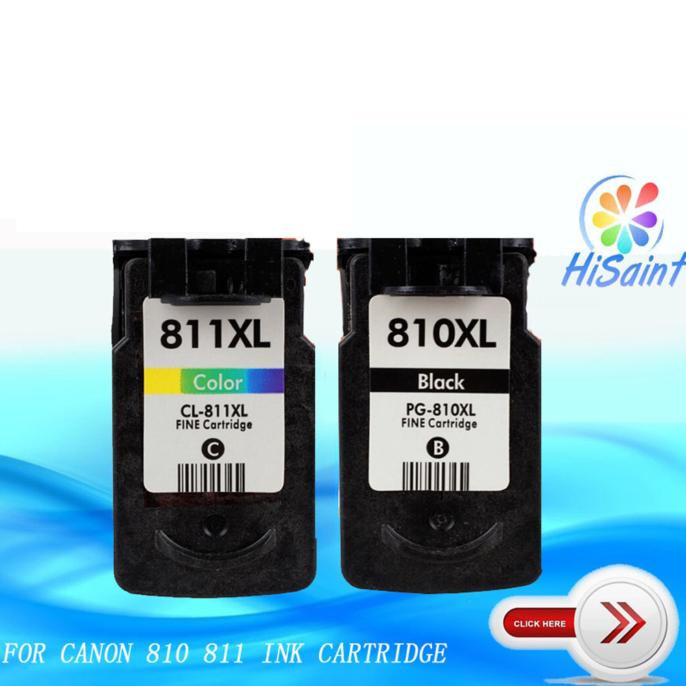 Compatible For Canon PG 810 CL 811 Ink Cartridge Black And