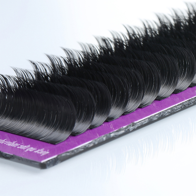 16Rows Faux Mink individual eyelashes soft Shiny classic lashes Eyelash extension natural lashes extension for professionals 3