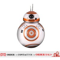 Movie toys Star Wars RC BB 8 Robot Star Wars 2.4G remote control BB8 robot Action Figure Robot Intelligent Ball kid gift boy toy