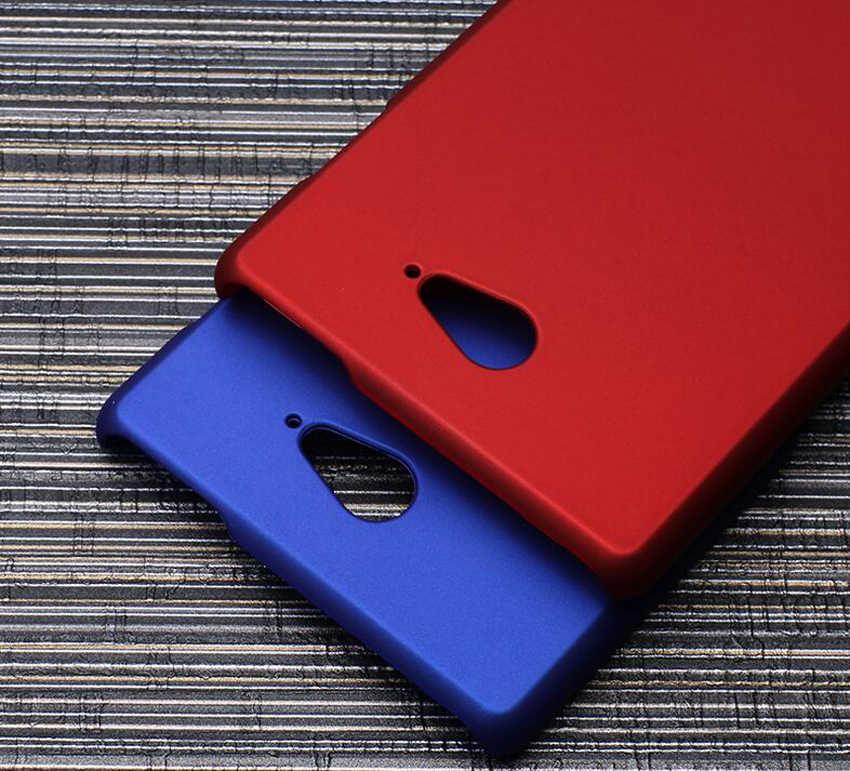 Matte Caso Duro Della Copertura Per Sony Xperia XP XA Compatto M2 M4 M5 E5 X Prestazioni C5 C4 E3 Z1 z2 Z3 Z Z5 Liscio In Gomma Custodie
