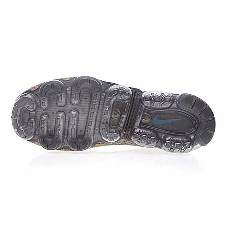 new arrival ce7fc 274b4 ... Original Nike Air VaporMax FK MOC Men s Cushion Running Shoes ,Black,Slip  Resistant Support