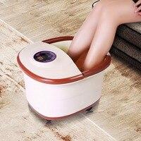 ACEVIVI Portable LCD Digital Display Foot Spa Bath Massager Automatic Massage Rollers Heat Adjustable Temperature Control Wheels