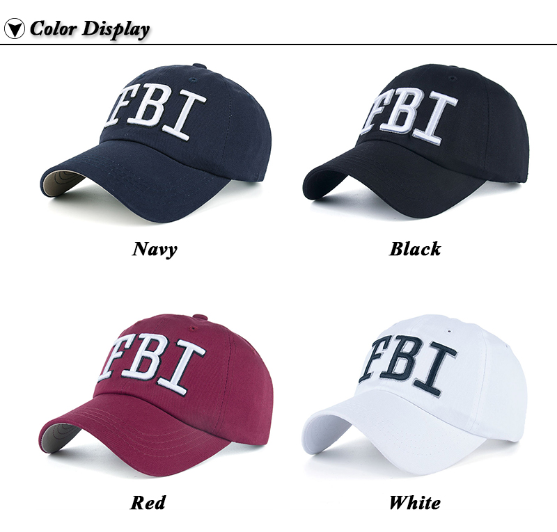 f70991c5e Details about FBI Hat Women Official - FBI Hats for Men - FBI Agent Hat -  FBI Baseball Cap