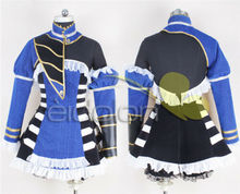 Anime cosplay suit Bloodstained: Ritual of the Night Miriam Cosplay Costumes Blue Fighting Uniforms A