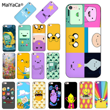 MaiYaCa adventure time cute Beemo BMO Jake Finn Lumpy cover phone Case for iPhone 8 7 6 6S Plus X XS MAX XR 5s 11pro max case цены