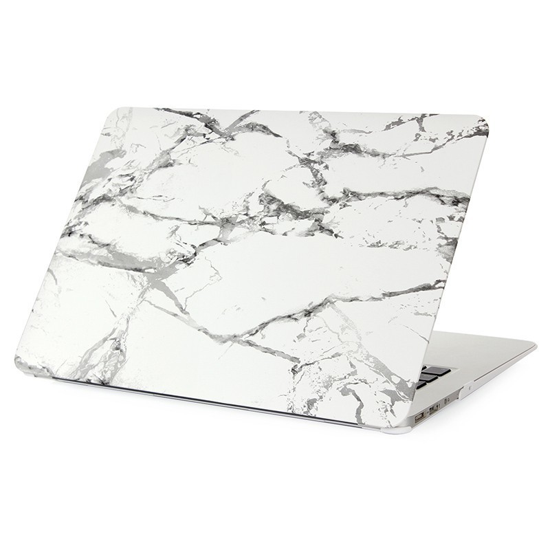 Image 1 - 2019 Tend Marble Case for MacBook Air 11 13 inch Full Cover Case for MacBook Pro 13 15 Retina 12 13 Hard Protective Funda A1990-in Laptop Bags & Cases from Computer & Office
