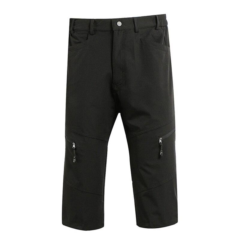 Мужские уличные спортивные шорты 3/4 для велоспорта  горные шорты MTB  шорты для горного велосипеда  дышащая одежда для велоспорта