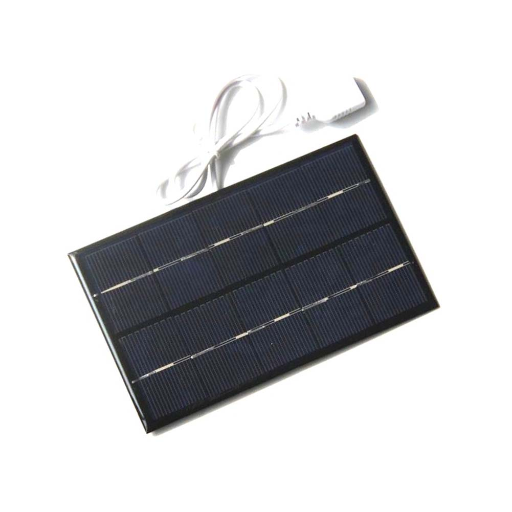 Portable 2W 5V USB Solar Panel Charger Panel USB Port for Mobile Phone Travel --M25