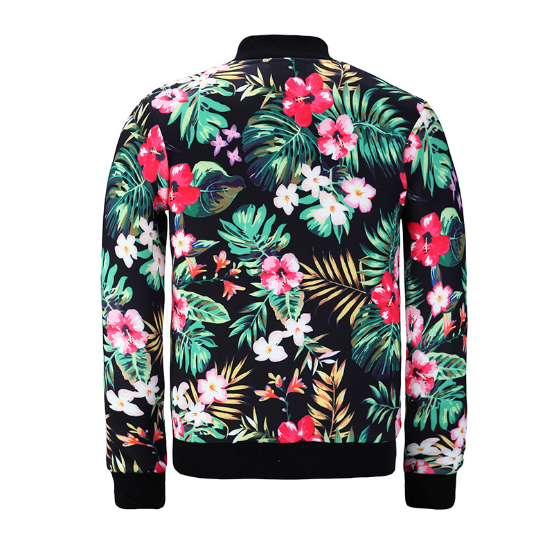 Aliexpress.com  Buy Weeds Floral 3D Bomber Jacket Men Women 2017 Autumn Streetwear Number 34 ...