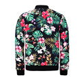 Weeds Floral 3D Bomber Jacket Men Women 2017 Autumn Streetwear Number 34 Hip Hop Jackets Mens Clothing