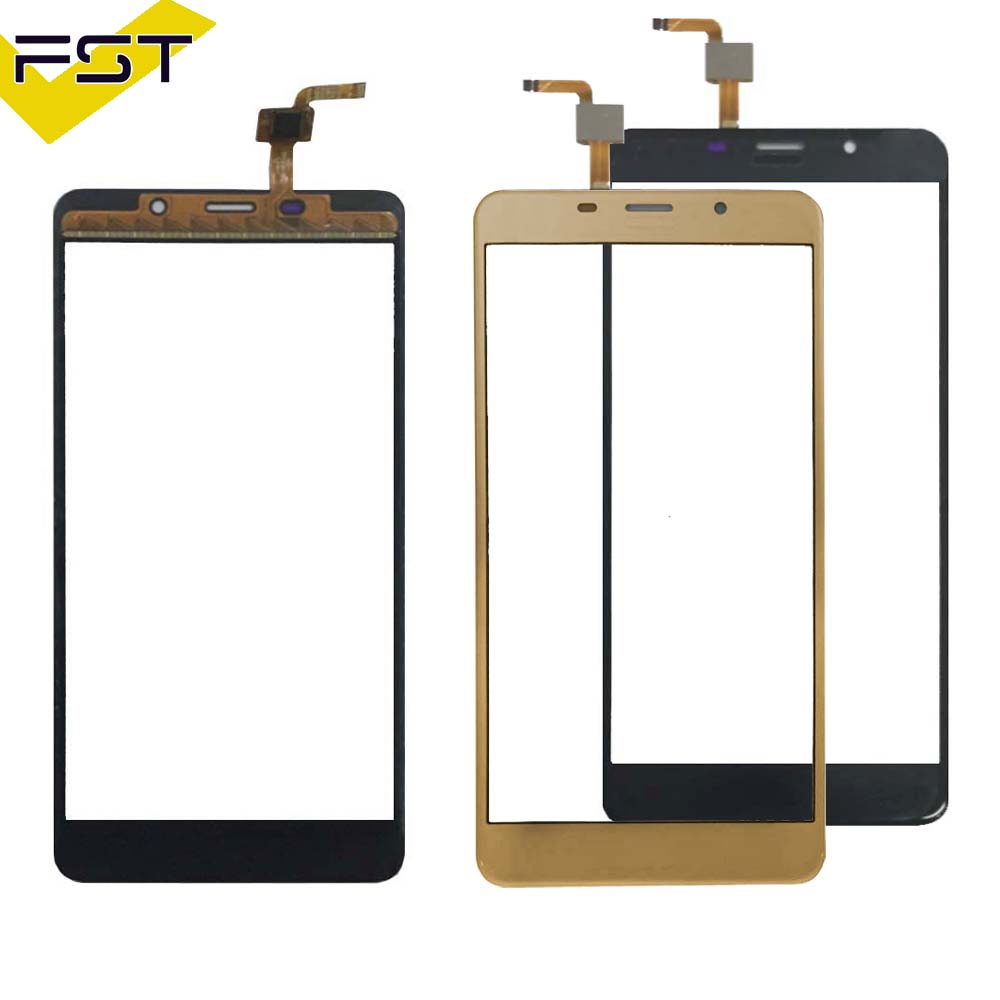5.7'' Black/Gold Tested Well Touch Screen Digitizer Panel For Leagoo M8 / M8 Pro Touch Panel Front Glass Lens Sensor Touchscreen