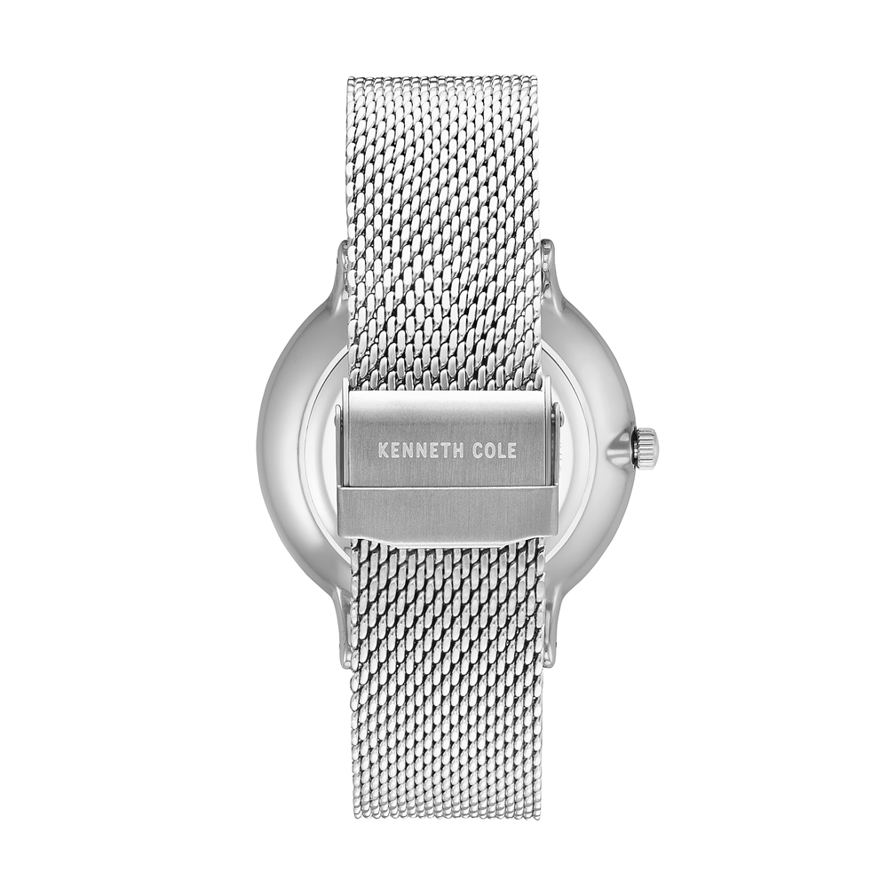 Kenneth Cole Herenhorloges KC14946011 Quartz Simple Stainless Steel - Herenhorloges - Foto 5