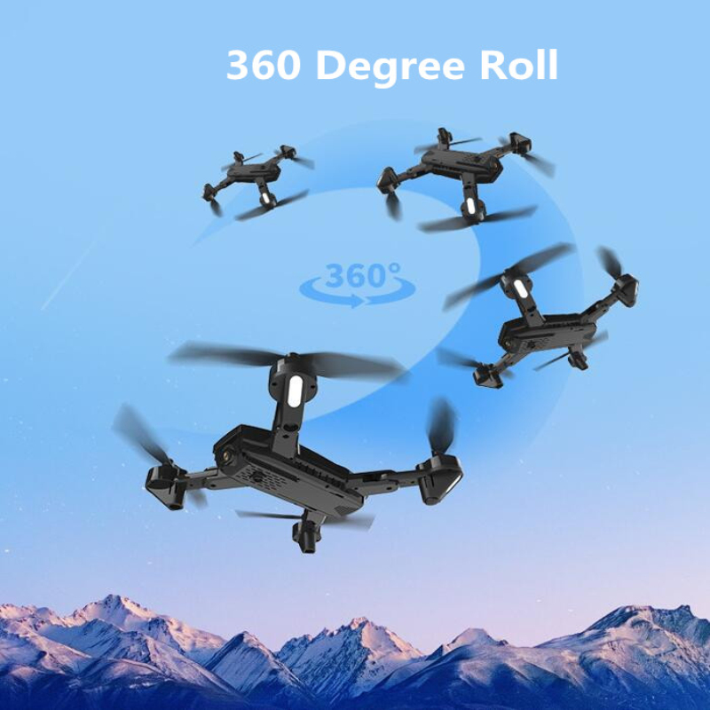 Professional Optical Flow Positioning Sefile WIFI Real Time RC Helicopter 20 Mins 1080P Dual Camera One Key Return FPV RC Done - 4