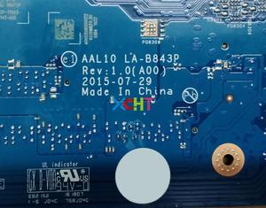 Image 5 - لديل انسبايرون 5458 5558 5758 N9T5P 0N9T5P CN 0N9T5P AAL10 LA B843P w 3215U وحدة المعالجة المركزية كمبيوتر محمول اللوحة اللوحة اختبار