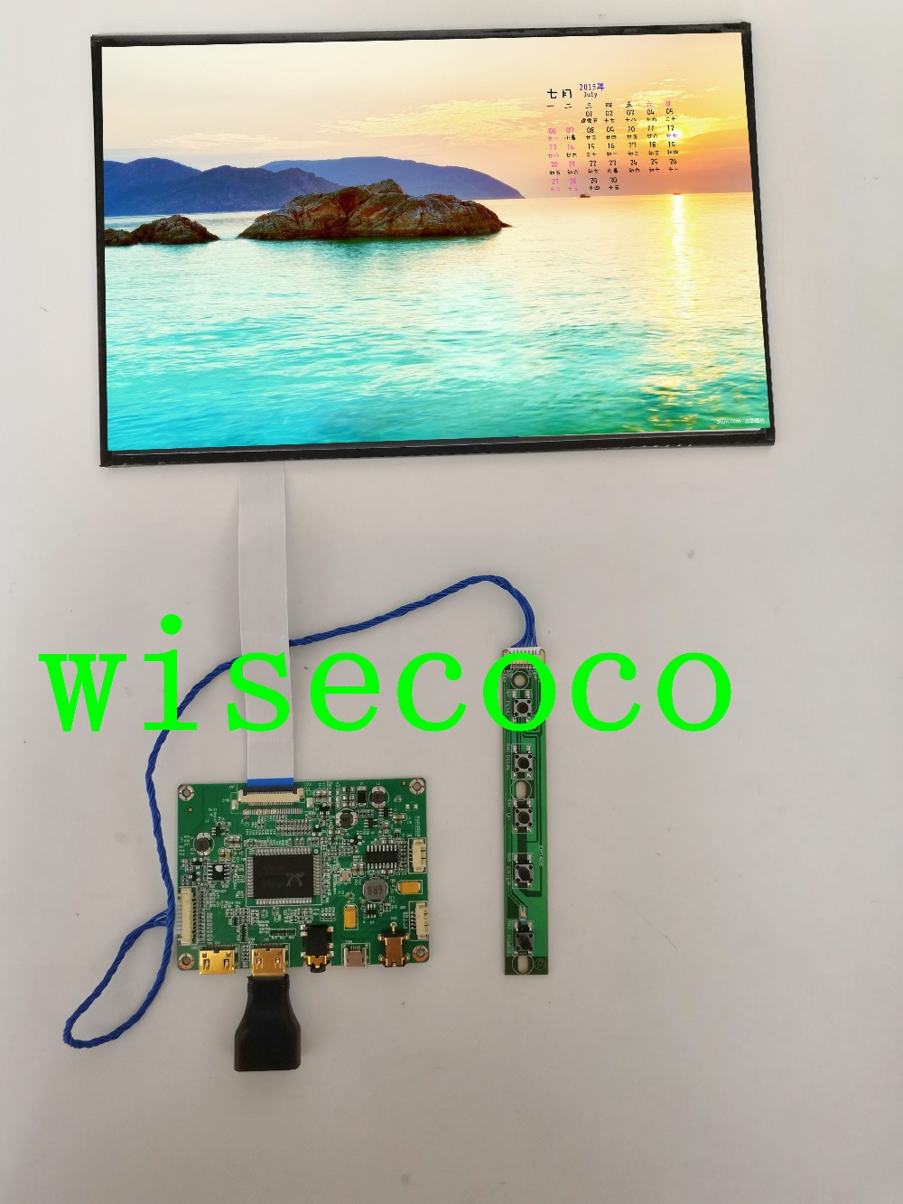 for Raspberry Pi \ Orange Pi \ Tablet PC 10.1 Inch 1920*1200 TFT LCD Independent Display Screen+LVDS HDMI Drive Board