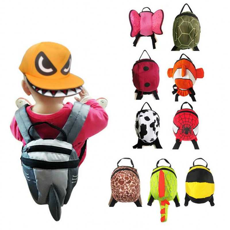 Kid Keeper Baby Safety Harness Toddler Child Harnesses Reins Backpack Bag For Baby Equipped With Anti-Lost Strap And Raincoat