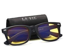 Фотография La Vie Brand Anti Blue Rays Computer Glasses Gaming Glasses 100% Radiation-resistant Glasses Vintage Retro Driving Glasses