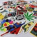 100 UNIDS Moda Etiqueta De BRICOLAJE de Juguete Fresco Pegatinas De Equipaje Frigorífico Skateboard Laptop Pegatinas de Decoración del Hogar