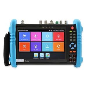 "Image 1 - Wanglu testeur de vidéosurveillance 6 en 1 4K H.265, moniteur IP analogique AHD TVI CVI SDI caméra 8MP ONVIF, multimètre de Fiber optique TDR VFL POE 7"""