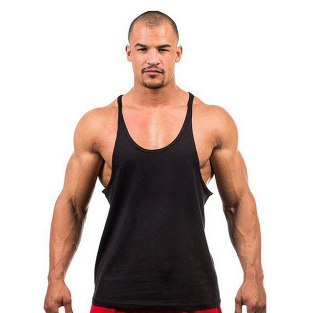 6be09718bde2d The Punisher Thin Straps Stringer Vest Bodybuilding Fitness Cotton Golds  Stringer Solid Men Muscle Tank Tops Undershirt X-25