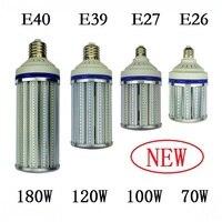 E27 E40 street lighting 70W 100W 120W 180W Spotlight E26 E39 LED Bulb Light Corn Lamp for industrial high bay Warehouse Engineer