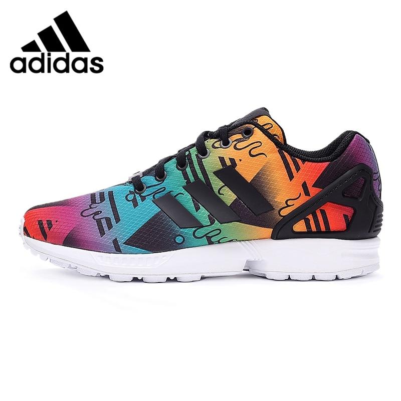nouveau concept 5db51 a334a hot adidas zx flux multicolor aliexpress 32a6f 83225