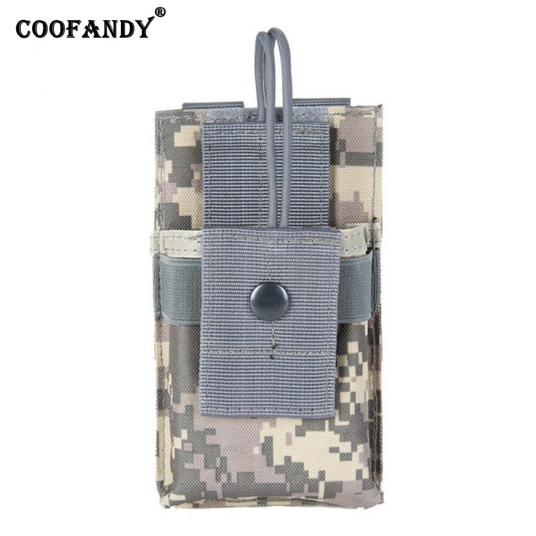 Mini Practical Durable Print Square Shape buckle Button Pocket Buckle Outdoor Walkie Talkie Bag Button, Rope(China)