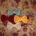 QYFLYXUE-bowknot Newborn fotografía atrezzo, bebé tocado, bowknot clip, neonatal clip de la cabeza