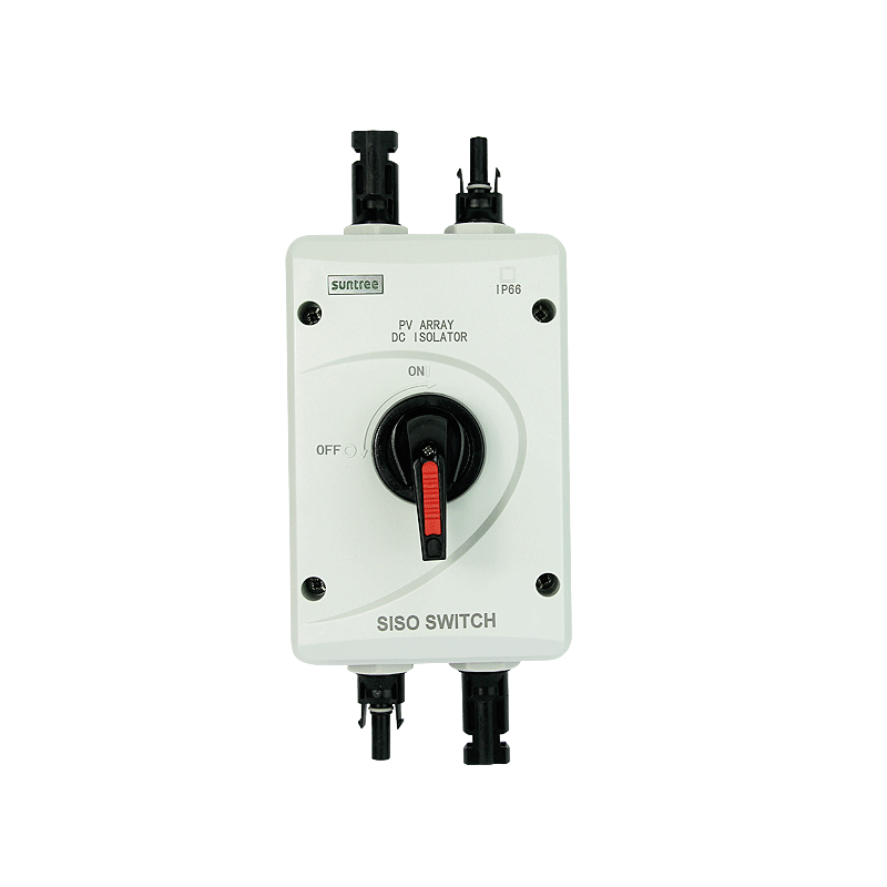 Solar System SISO 32A DC1000V PV DC Waterproof Isolating Switch Isolator Switch With MC4 Connector