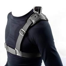 Shoulder Strap Mount Harness Single Shoulder Video Camera Shoulder Chest Strap Supports Belt for Action Sports Cameras цена и фото