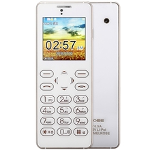 MELROSE T1 ultradünne 1,54 zoll Full Touch Karte Mini Handy FM Zurück Kamera anti-verlorene Audio Sound Recorder Handy