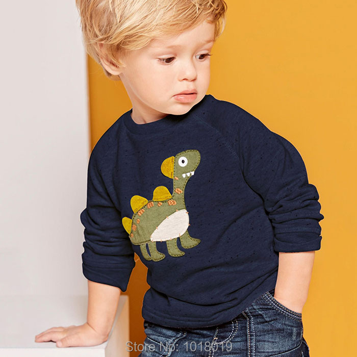 Quality 100% Terry Cotton Sweaters New 2017 Brand Baby Boys Clothes Children Clothing Bebe Kids Sweatshirt t shirts Hoodies Boys