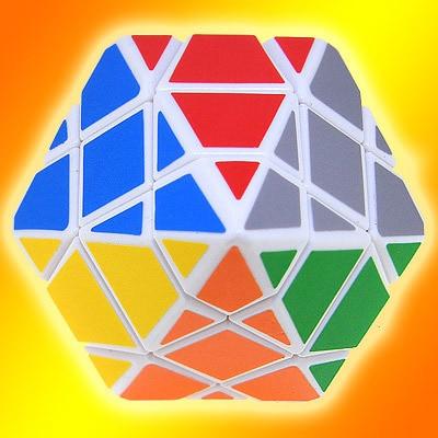 Shaped magic cube hexagonal magic cube rb275 free air mail