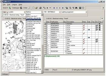Landini Galileo electronic spare parts 7.4