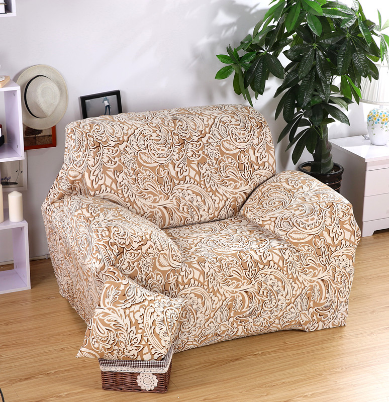 Fengwujiutian golden sofa cover sofa slipcovers cheap wrap tight sofa spandex cover corner sofa Loveseat slipcovers cheap