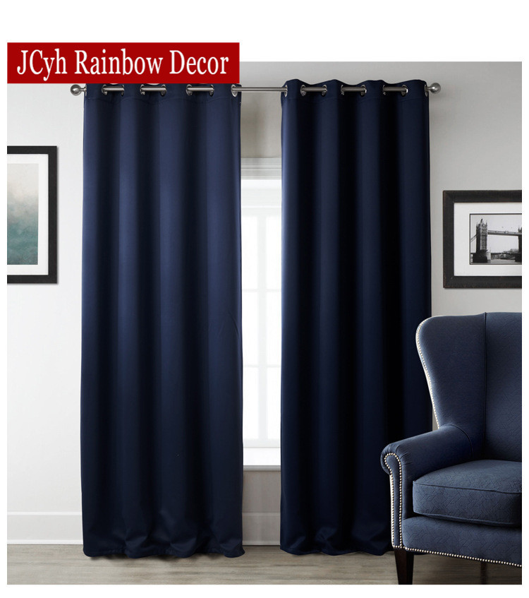 JRD Modern Blackout Curtains For Living Room Window Curtains For Bedroom Curtains Fabrics Ready Made Finished Drapes Blinds Tend 2