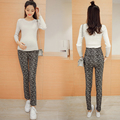 European Plus Velvet Elastic Maternity Pants Leggings Winter Maternity Clothes for Pregnant Women Pencil Pants Pregnantcy B375