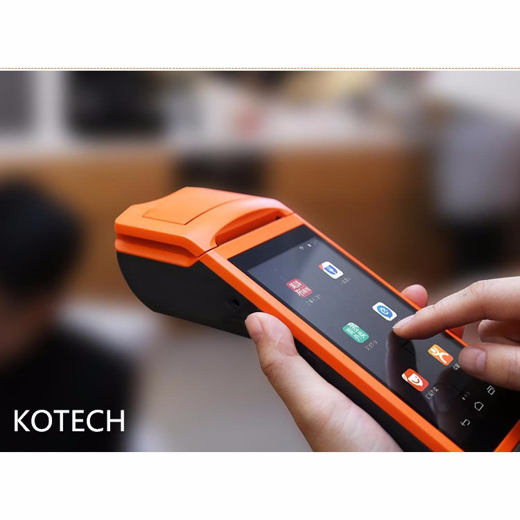 Android5.1 OS Portable Pos imprimante thermique POS thermique sans fil bluetooth wifi Android PDA 3G Distribution alimentaire Sunmi V1