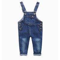 Fashion Kids Denim Jumpsuit 2 3 4 5 6 7 8 9 Years Children Overalls Jeans