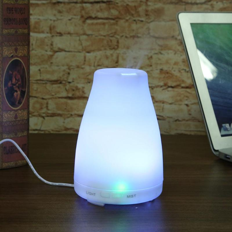 цена на Air Humidifier Aroma Essential Oil Diffuser Ultrasonic Aromatherapy Electric Aroma Diffuser Mist Maker LED Light Home Office Use