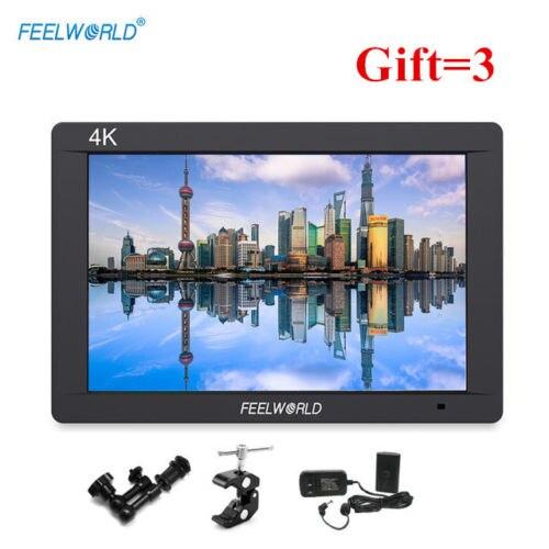 FW703 Feelworld 7 Inch 3G SDI 4 K HDMI Monitor 7 IPS 1920x1200 Penuh HD Kamera Lapangan Monitor dengan Histogram Memuncak Fokus