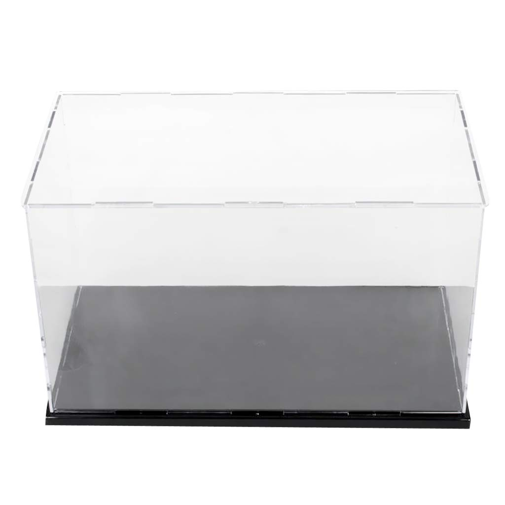 32x25x25cm Acrylic Case Display Box Showcase for Action Figure 3D Model Dolls Toy Product Samples Display