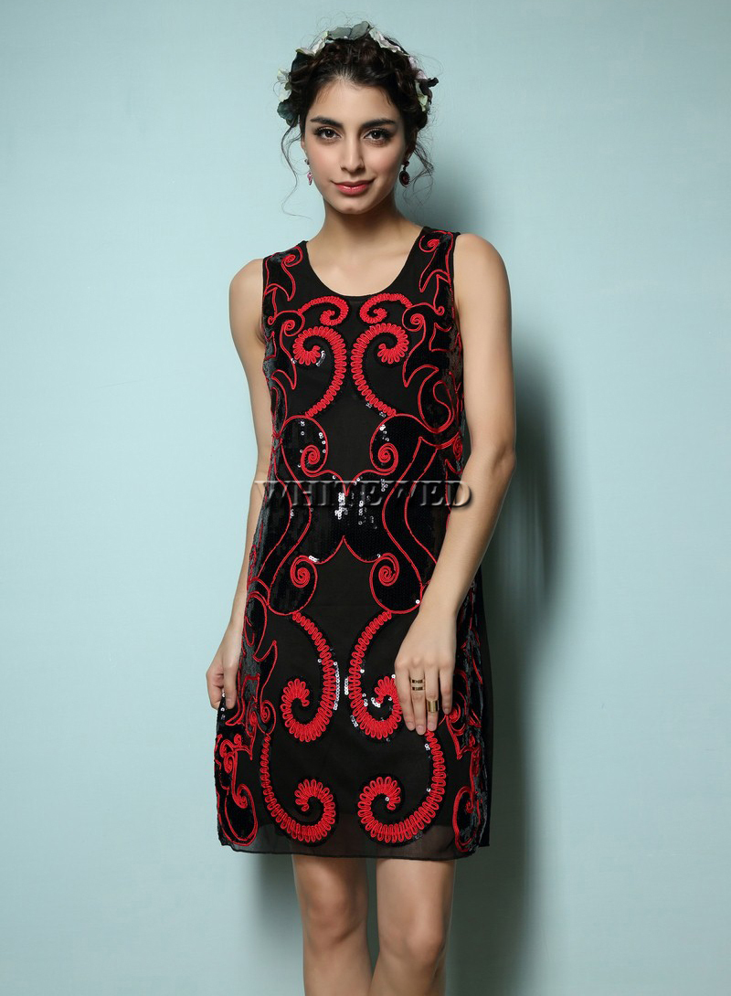 Popular sale day dresses buy cheap sale day dresses lots for Art deco era clothing