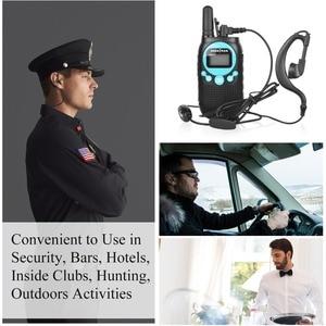 Image 3 - earpiece for Walkie Talkie Earpiece Security Headset Acoustic Tube Earphone Mic PTT Surveillance 1 PIN 2.5mm R40 Two Way Radio
