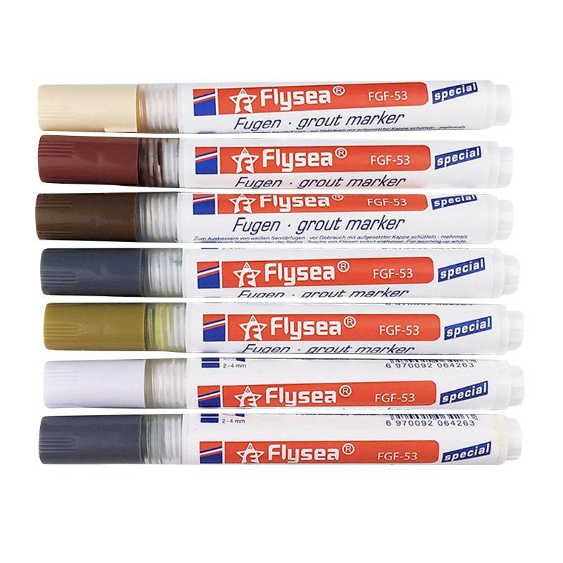 Tile Repair Pen Refill Wall Gap Grout Refresher Marker Odorless Non Toxic For Tiles Floor Kitchen Bathroom Cleaner
