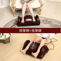 Electric Heating Shiatsu Foot Leg Massager Kneading Gua Sha Reflexology Massage device Muscle Stimulator Home Relaxation