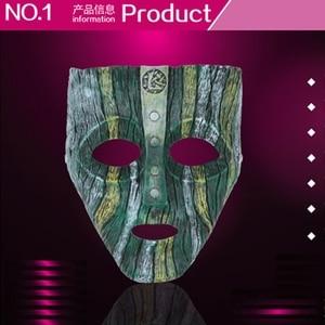 Image 5 - Cameron Diaz Loki Halloween Resin Masks Jim Carrey Venetian  Mask The God of Mischief Masquerade Replica Cosplay Costume Props
