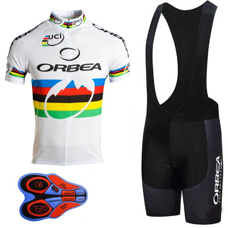 20ec29973 Cycling Jersey 2018 orbea Pro Team Men Short Sleeve Mountain Bike Clothing  Bicycle Sports Wear uniformes