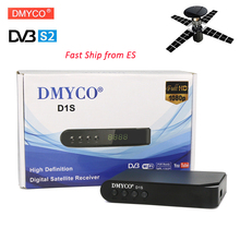 Newest HD Digital DVB-S2 D1S Satellite Receiver Receptor D1S TV Receiver Full HD 1080P Support Biss Key newcam Youporn Youtube